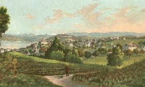 Wollishofen_um_1880