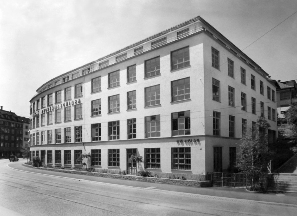 Year 1945 - The building is finished